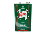 Castrol Classic GP50 SAE50 one gallon low detergent monograde engine oil 4.54 litres
