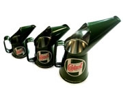 Castrol Classic half pint green reproduction pouring jug