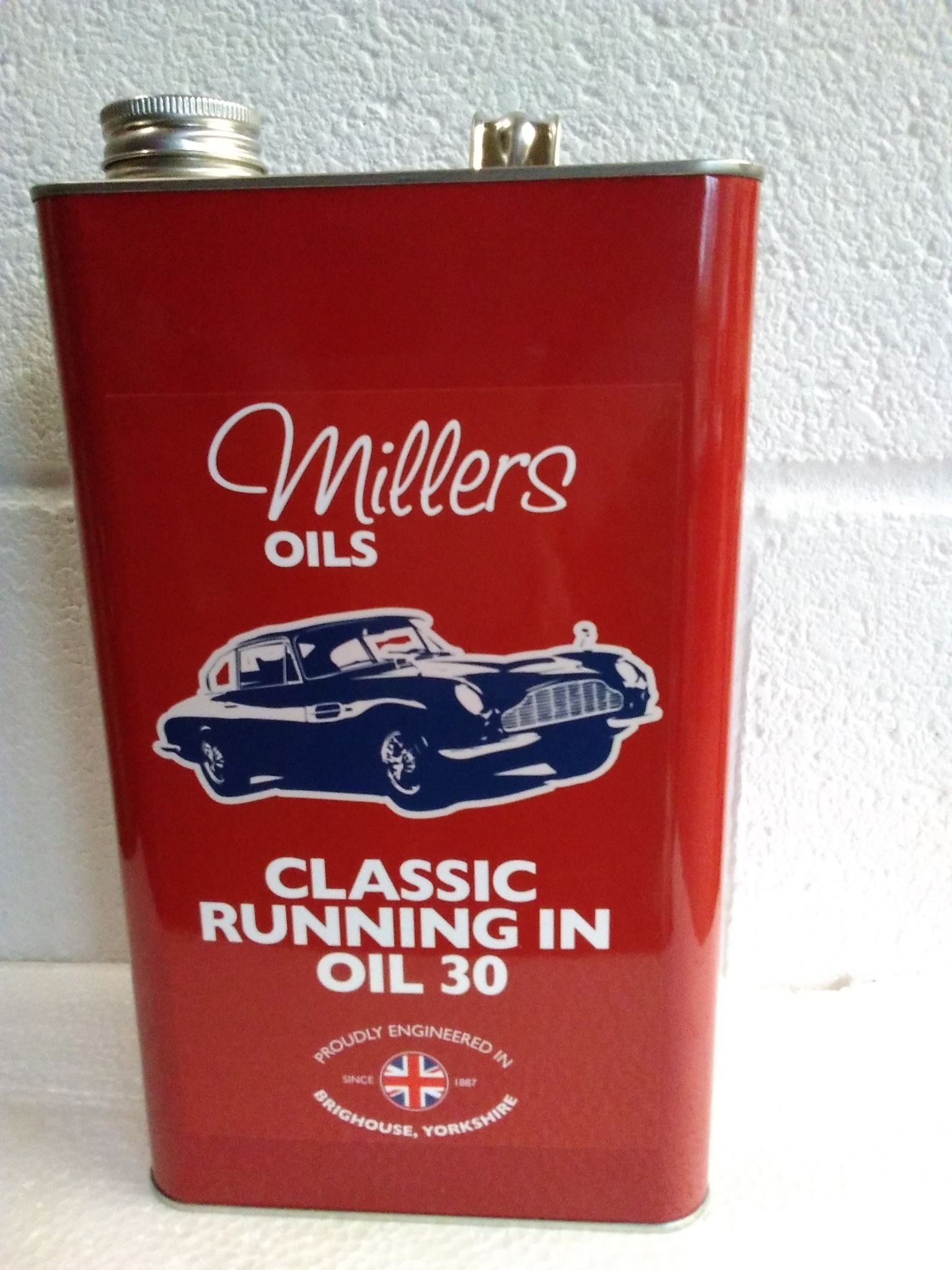 Millers Oils Classic Running In SAE30 mineral engine Oil  5 litres