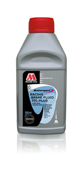 Millers Oils Racing brake fluid 300 Plus extra high boiling point for use in competition  500ml