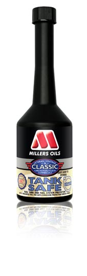 Millers Oils Tank Safe corrosion inhibitor for fuel tanks and fuel systems 250ml
